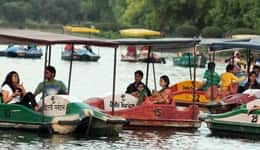 Boating in Munnar