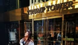 Ex-Miss India Manasvi Mamgai posted a photo of her outside the Trump Tower and you won't believe why!