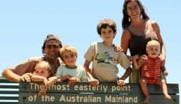 This nomadic couple went on a 17-year-long world road trip and came back with 4 kids!