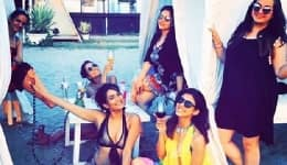 Super hot photos of Kishwer Merhant's bachelorette party are giving us all sorts of girl gang travel goals