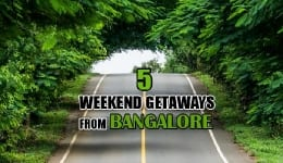 5 weekend getaways from Bangalore you can explore this long Holi weekend