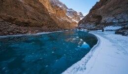 White walker spotted on the Chadar trek in Ladakh!