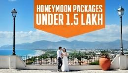 5 best honeymoon packages under Rs 1.5 lakh