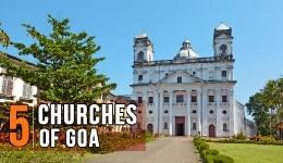 Churches of Goa: 5 Churches in and around Panaji to usher in the Yuletide spirit