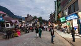 Shopping in Manali