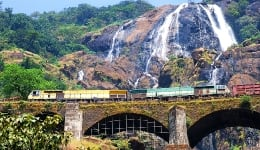 Why you must visit the magnificent Dudhsagar waterfalls in Goa this monsoons