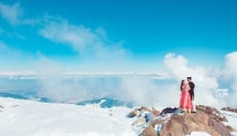 This destination wedding video showcases the mesmerizing beauty of Kashmir