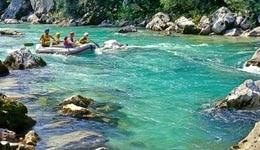 Rafting in Tattapani