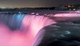 Frozen fantasy: The Niagara Falls in the winter will take your breath away!