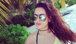 Photos of Sonakshi Sinha chilling in Maldives will drive your blues away!