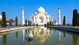 This video of the white marble beauty Taj Mahal will make you go WOW!