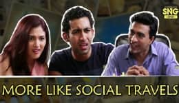 Ever heard of social travels? This video takes you round the globe… more like socially!