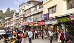 Shopping in Mussoorie