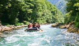 River Rafting in Spiti's spin River