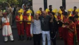 Deepika Padukone and Vin Diesel get a royal Maharashtrian welcome in Mumbai! Watch Video
