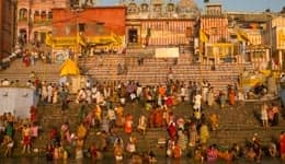 Holy dip at Panchganga Ghat