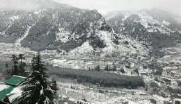 Shimla snowfall video like you've never seen before