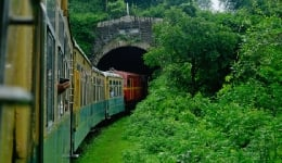 Kalka-Shimla Railway toy train ride