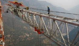 World's tallest rail bridge higher than Eiffel Tower to come up in Jammu and Kashmir