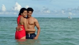 Ruslaan Mumtaz and Nirali Mehta's hot Mauritius photos are giving us all kinds of couple travel goals!