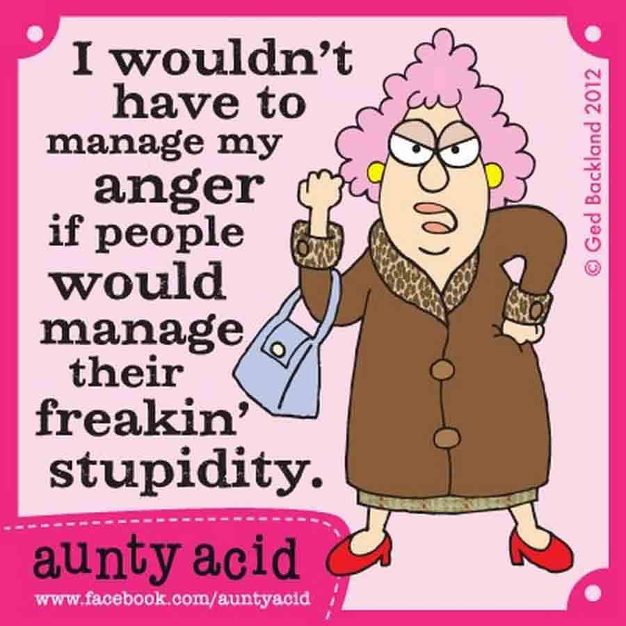 The Best Memes Of Aunty Acid