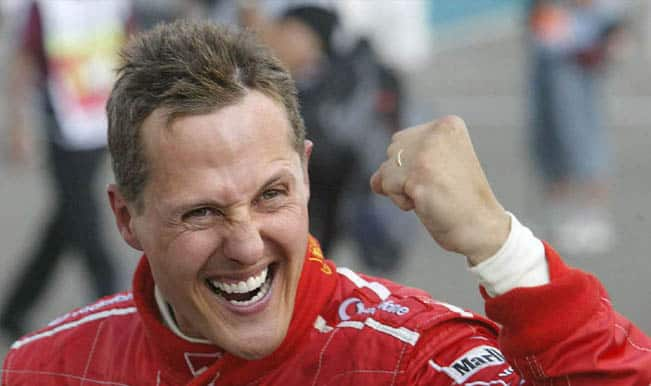 'Slight improvement' in Michael Schumacher's condition: Doctors