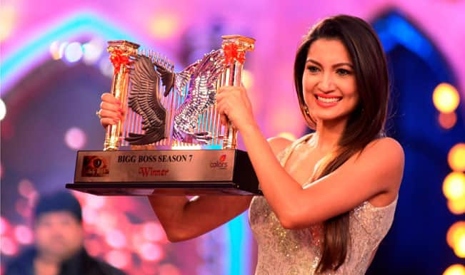 Gauhar Khan wins 'Bigg Boss 7′, aims for superstardom