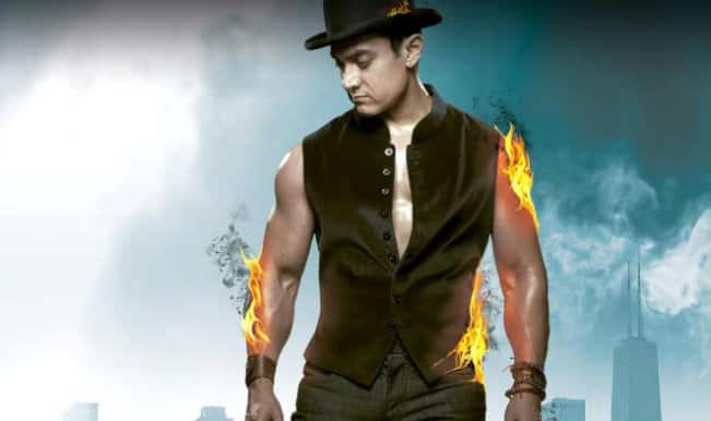 Dhoom 3 Movie Review  Aamir Khan   s spectacular Great Indian Circus Aamir Khan In Dhoom 3 Sets