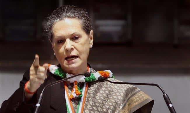 Sonia Gandhi asks people to 'be a little soft towards Congress'