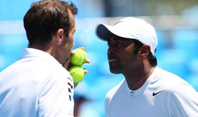 Paes-Stepanek bow out of Australian Open 2014