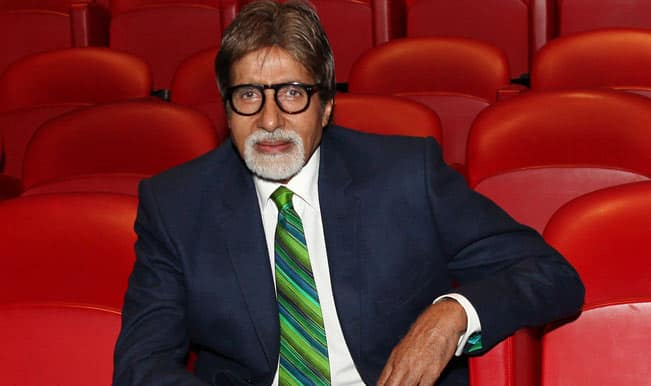Age seems to be just a number for Big B who loves dancing and kissing!