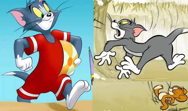 Beachwear is appropriate despite being naked the rest of the time – Tom and Jerry1