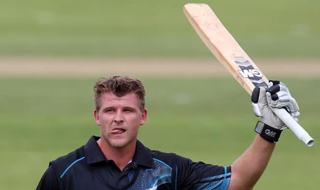 New Zealand's Corey Anderson hits fastest ODI century