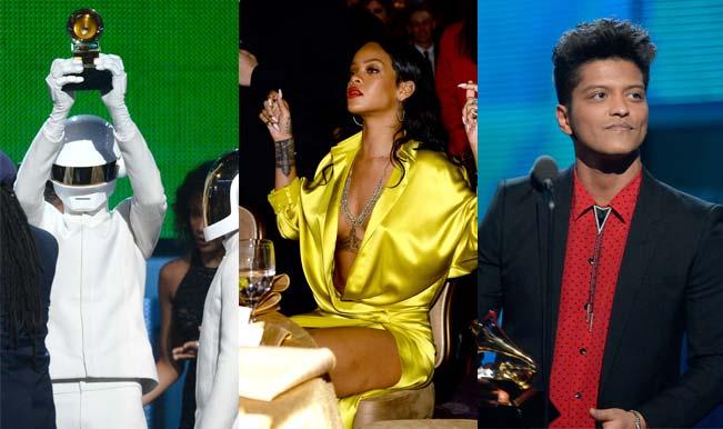 Grammy Awards 2014 winners' list: Daft Punk, Rihanna, Bruno Mars honoured