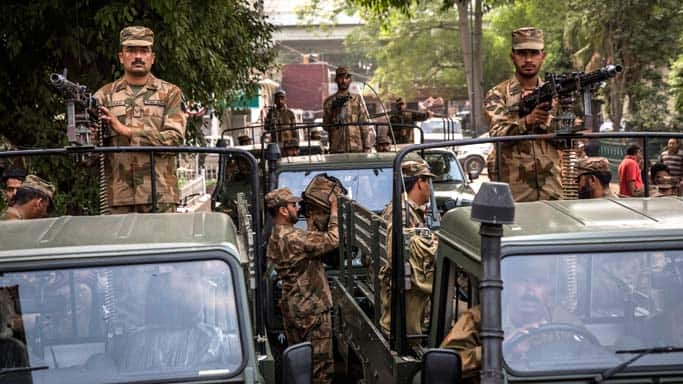 12 militants killed in Pakistan army operation