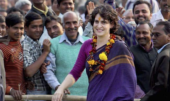 Priyanka Gandhi's presence at Congress meet triggers speculation