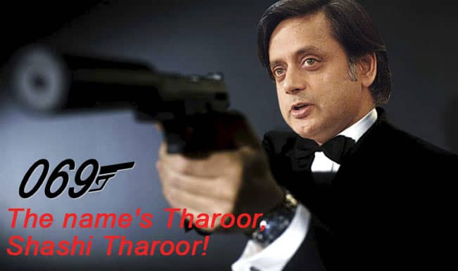 Shashi Tharoor extramarital affair: Agent 069 was just trying to penetrate the ISI!