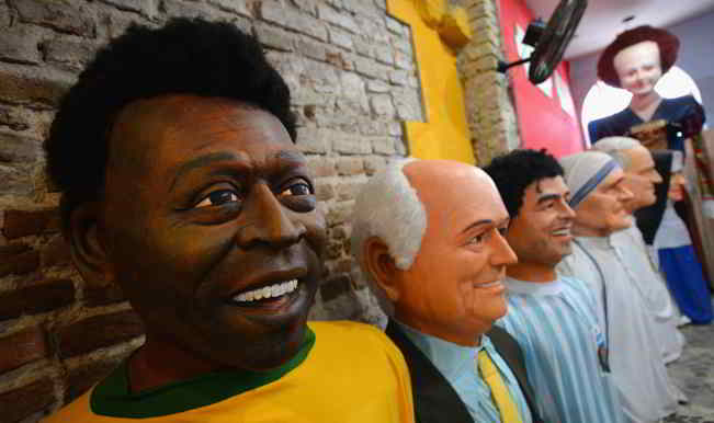 Maradona-Pele