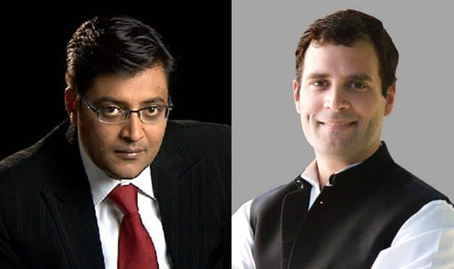 5 ways the Arnab Vs Rahul interview screwed up Rahul Gandhi