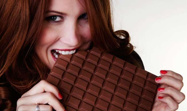 Why do girls like chocolate