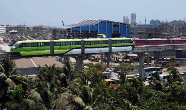 India's first monorail in Mumbai opens for public use