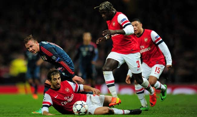 Champions League: Arsenal Vs Bayern Munich stats