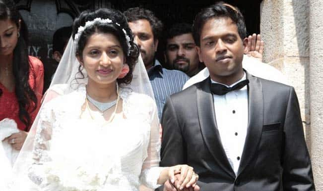 Meera Jasmine and Anil John Titus Marriage Photo