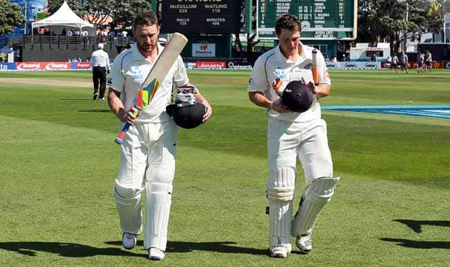 India vs New Zealand, 2nd Test, Day Four: McCullum, Watling record sixth wicket partnership put New Zealand on top