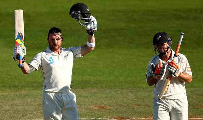 Ind vs NZ, 2nd Test: NZ lead India by 6 runs thanks to McCullum