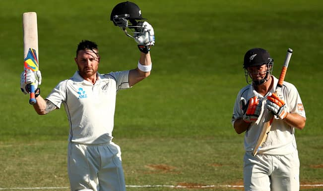 Brendon-McCullum-of-New-Zealand-celebrates-his-century-as-BJ-Watling-looks-on-1