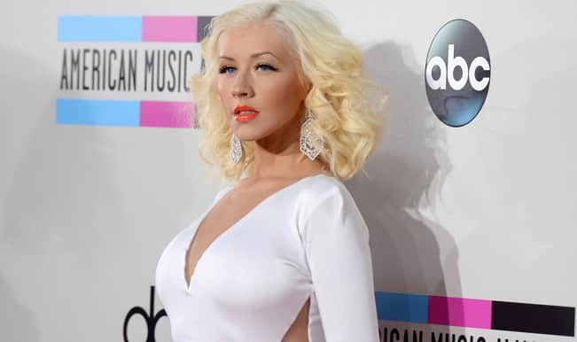 Is American singer Christina Aguilera pregnant again?