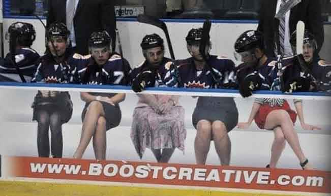 Hockey players bottom half