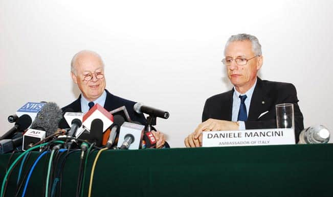Italy calls Daniele Mancini for consultations on the trial of the marines case