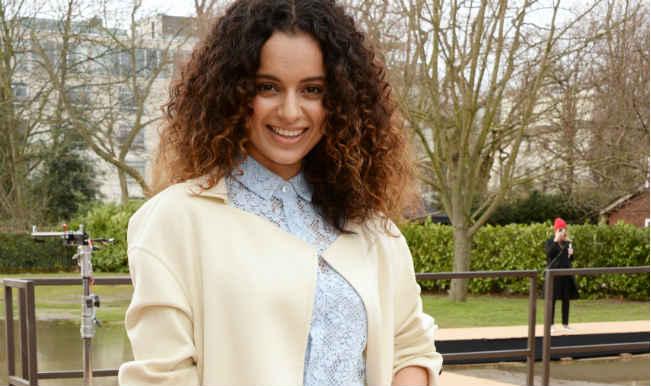 Kangana Ranaut attends London Fashion Week